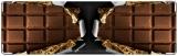 Визитница/Картхолдер, Шоколад 25002