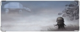 Обложка на студенческий, Дарт Вейдер в тумане09