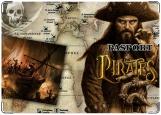 Обложка на паспорт с уголками, пираты