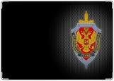 Обложка на паспорт с уголками, ФСБ