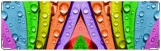 Визитница/Картхолдер, Радуга цветов, 27001