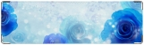Визитница/Картхолдер, Синие розы