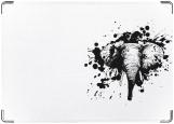 Обложка на паспорт с уголками, Слон