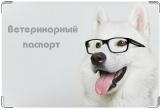 Обложка на ветеринарный паспорт, профессор