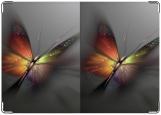 Обложка на паспорт с уголками, Бабочка-заря