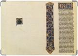 Обложка на автодокументы с уголками, Средневековая библия