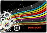 Обложка на паспорт с уголками, starwave