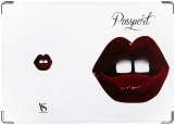 Обложка на паспорт, Lips