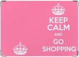 Блокнот, Keep calm and go shopping