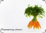 Обложка на паспорт с уголками, Морковка