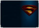Обложка на автодокументы с уголками, Супермен