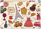 Обложка на паспорт с уголками, Париж