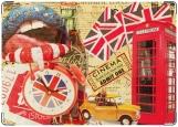 Обложка на паспорт с уголками, London is calling for you, baby!