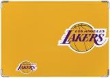 Обложка на паспорт с уголками, Lakers