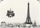 Обложка на паспорт, Опять хочу в Париж!