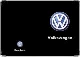 Обложка на автодокументы с уголками, Volswagen