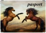 Обложка на паспорт с уголками, Паспорт