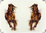 Обложка на паспорт с уголками, Magic horse