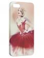 Чехол для iPhone 5/5S, Балерина