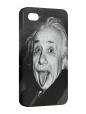 Чехол iPhone 4/4S, Альберт Эйнштейн