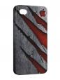 Чехол iPhone 4/4S, Жесть