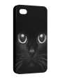 Чехол iPhone 4/4S, Черная кошка