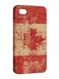 Чехол iPhone 4/4S, Flag Canada
