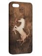 Чехол для iPhone 5/5S, лошадь
