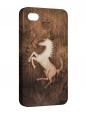 Чехол iPhone 4/4S, лошадь
