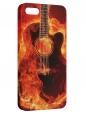 Чехол для iPhone 5/5S, Гитара 4