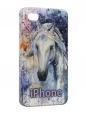 Чехол iPhone 4/4S, год лошади