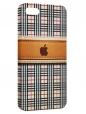 Чехол для iPhone 5/5S, apple на клетке