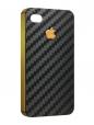 Чехол iPhone 4/4S, карбон