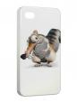Чехол iPhone 4/4S, Белка