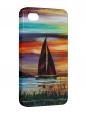 Чехол iPhone 4/4S, Под парусами