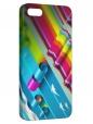 Чехол для iPhone 5/5S, Бумажные волны