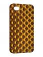 Чехол iPhone 4/4S, золотая