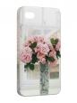 Чехол iPhone 4/4S, Букет роз