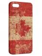 Чехол для iPhone 5/5S, Flag Canada