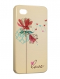 Чехол iPhone 4/4S, Love