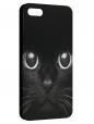 Чехол для iPhone 5/5S, Черная кошка