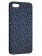 Чехол для iPhone 5/5S, Синие цветы