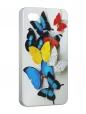 Чехол iPhone 4/4S, Бабочки