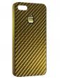Чехол для iPhone 5/5S, карбон золотой