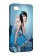 Чехол iPhone 4/4S, Алиса в стране кошмаров