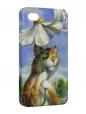 Чехол iPhone 4/4S, котик