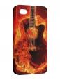 Чехол iPhone 4/4S, Гитара 4