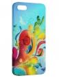 Чехол для iPhone 5/5S, Буйство красок