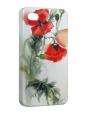 Чехол iPhone 4/4S, Маковый