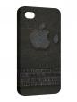 Чехол iPhone 4/4S, джинсовая